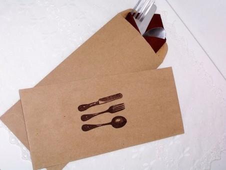 Paper Kraft Dinner Napkins